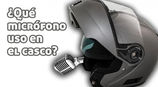 ¿Qué micrófono para motovlogs uso?