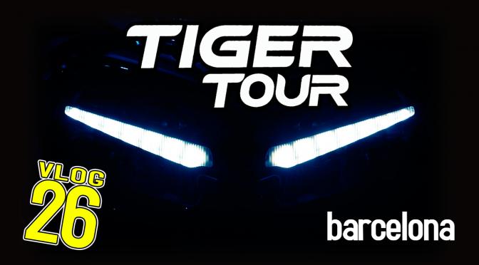 TIGER TOUR: Las nuevas Triumph Tiger 2018