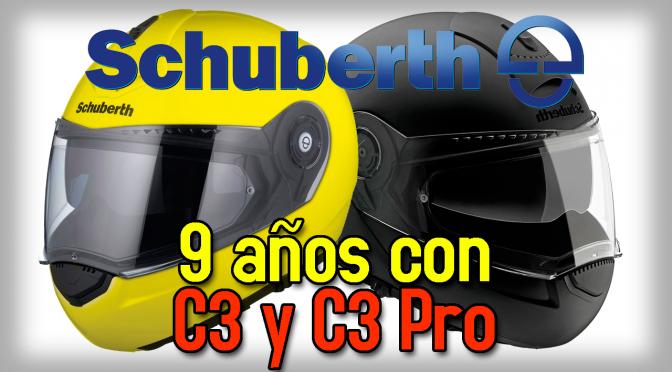 Opinión Schuberth C3 C3-Pro después de 9 años