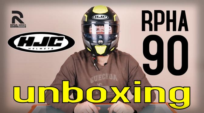 HJC RPHA 90 Rabrigo | Unboxing