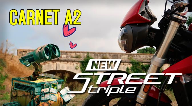 Prueba TRIUMPH STREET TRIPLE S A2 2018