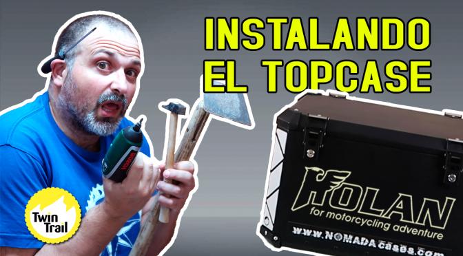 Holan Nomada PRO L+ | Instalando el Topcase