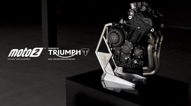 Triumph Moto2 2019, tomando forma