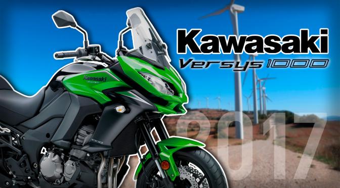 Kawasaki VERSYS 1000 2017   Prueba