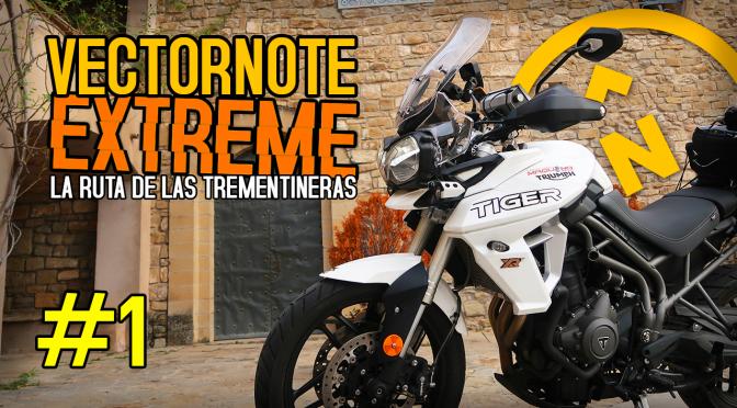 VECTORNOTE EXTREME #1 con la TRIUMPH TIGER 800 XRT