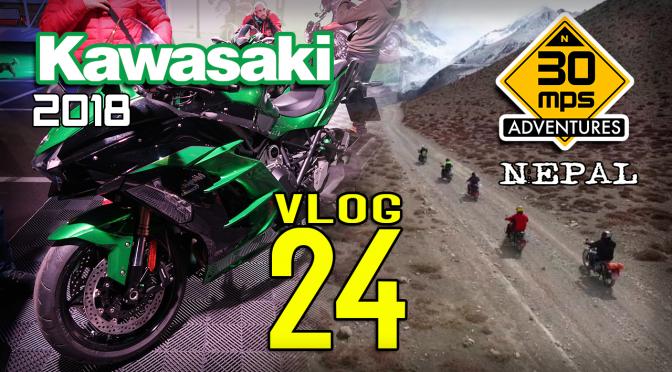 Novedades KAWASAKI 2018 + NEPAL 30mps