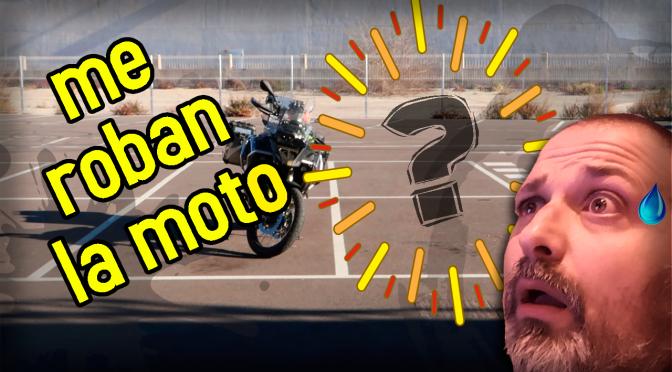 Me ROBAN la MOTO! + SORTEO