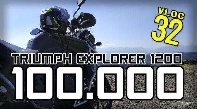 Llego a los 100.000, Fiesta TRIUMPH y motos de MALOTES