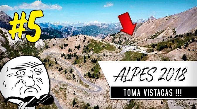 ALPES EN MOTO 2018 #5 | Llegando a Cesana Torinese
