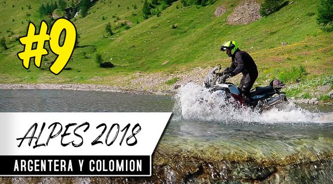 ALPES EN MOTO 2018 #9 | Valle de Argentera y Punta Colomión