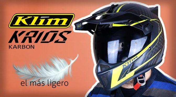 KLIM KRIOS, el casco de aventura MÁS LIGERO!