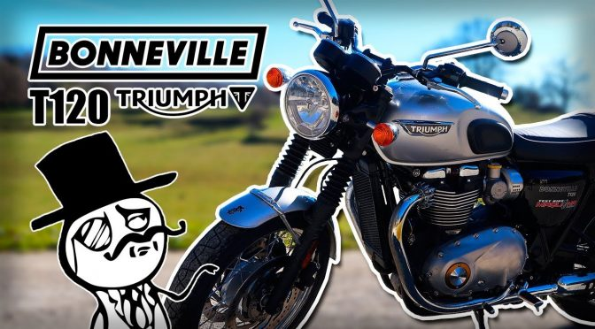 Prueba Truimph BONNEVILLE T120 2019