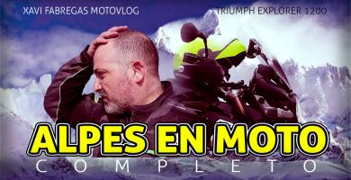Alpes en moto completo
