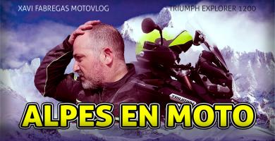 alpes en moto