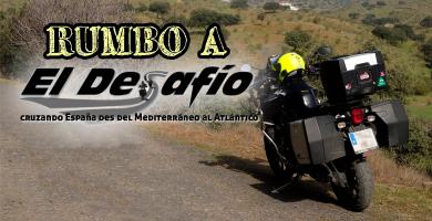 Cruzando España en moto