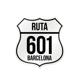 Ruta 601 logo