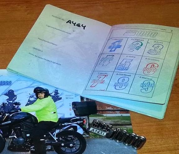 pasaporte rider1000